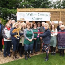 Willow Cottage Cattery Open Day was a great success, Helena Walker from Ravensden Parish Council kindly cut the ribbon to mark the event!